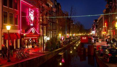 Megszüntetné a vörös lámpás negyedet Amszterdam polgármestere
