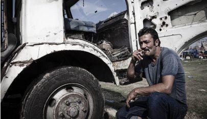A kamionsofőr (Barátom emlékére…)