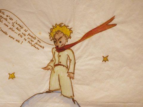 Előkerültek Saint-Exupéry vázlatai a kis hercegről