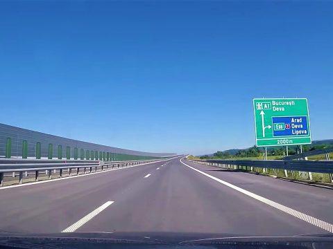 Tavaly 43 kilométerrel bővült a román autópálya-hálózat