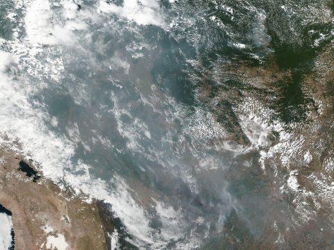 Növekszik az amazonasi erdőtüzek okozta légszennyezettség