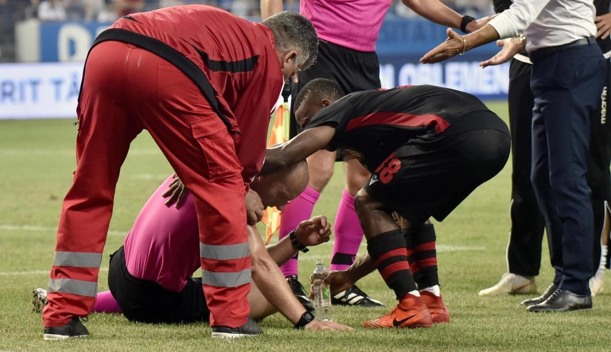 Elutasította az UEFA a Budapest Honvéd óvását a Craiova elleni botrányos mérkőzés kapcsán