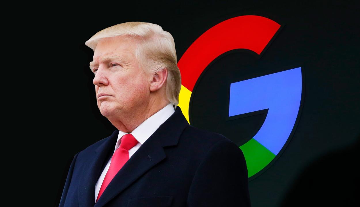 Donald Trump szerint a Google azon van, hogy ő veszítsen a 2020-as választásokon