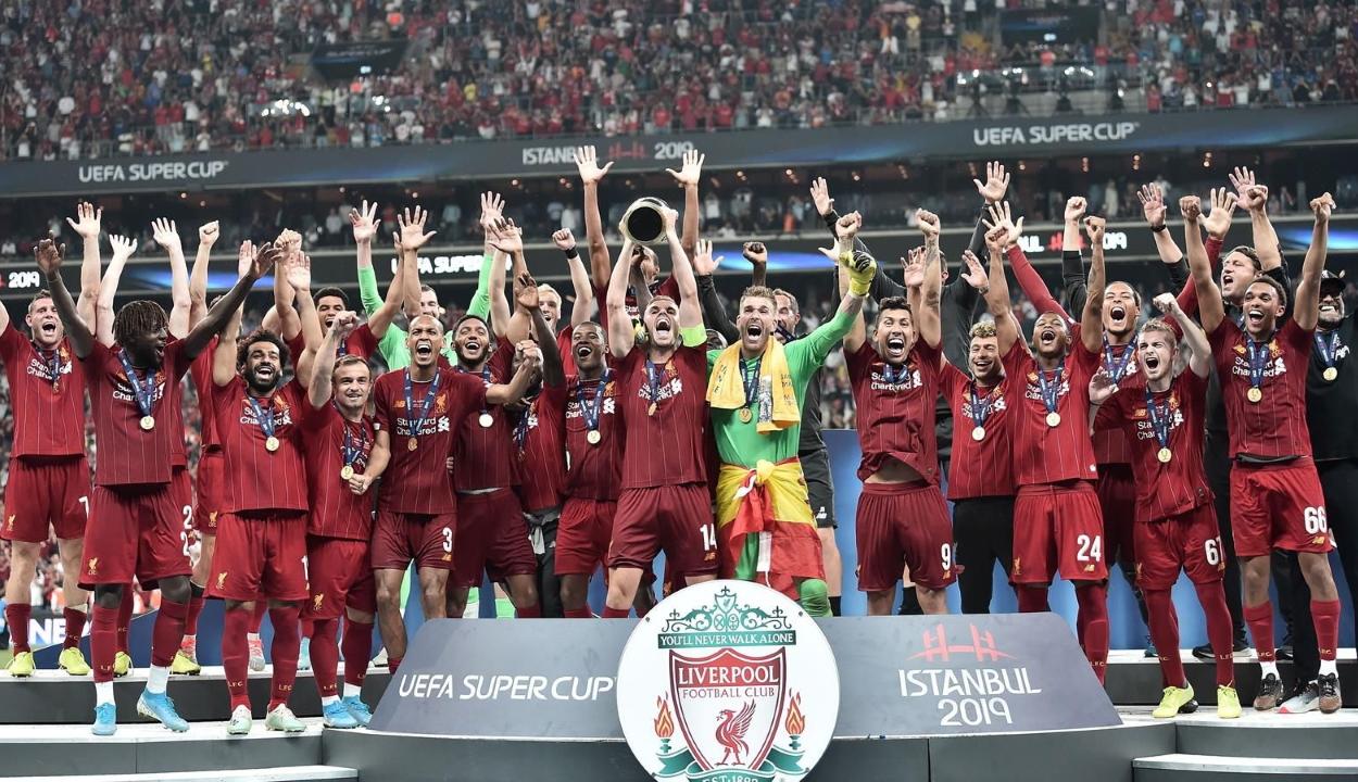 A Liverpool negyedszer hódította el az Európai Szuperkupát