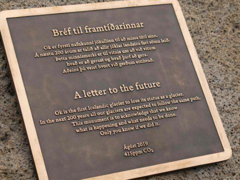 Bejelentette az első gleccser halálát Izland