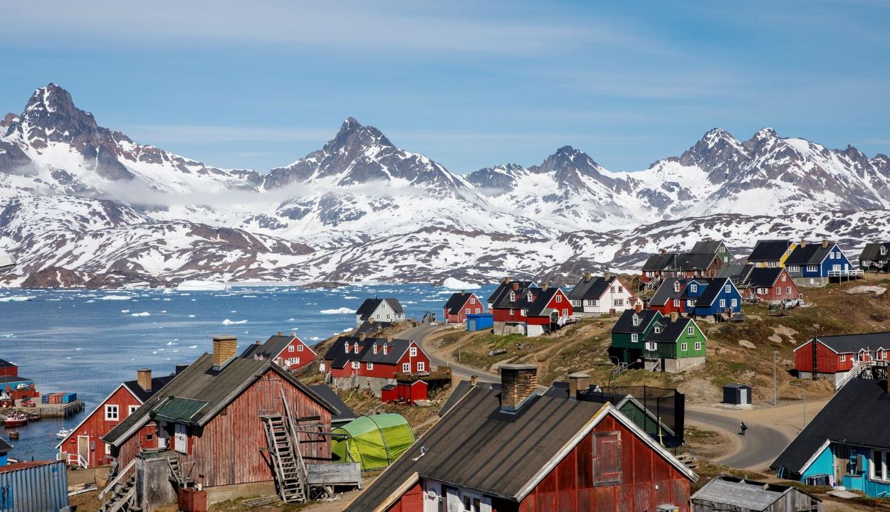 Donald Trump megvenné Grönlandot Dániától