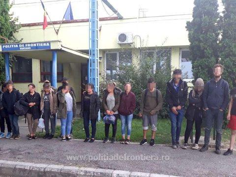 Iraki határsértők csoportját tartóztatták fel a román határrendészek