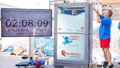 Több mint két órát töltött jégbe zárva egy osztrák extrémsportoló
