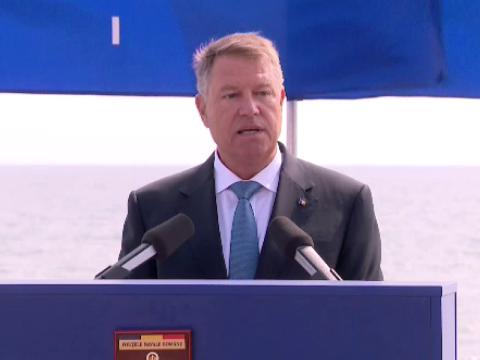 A Fekete-tenger védelmének fontosságát hangoztatta Johannis a tengerészet ünnepén