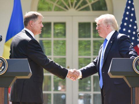 A Fehér Házban fogadja Donald Trump elnök Klaus Johannist