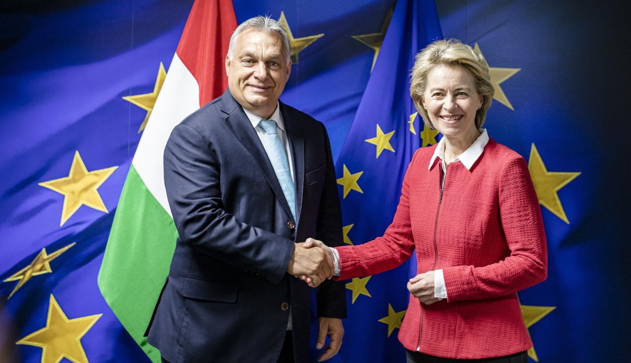 Orbán: jó döntés volt Ursula von der Leyen támogatása