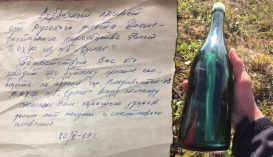 Ötvenéves palackpostát talált egy alaszkai férfi