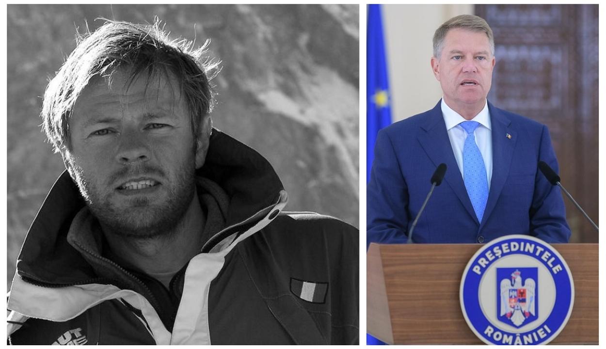 Post mortem kitüntette Török Zsolt hegymászót Klaus Johannis