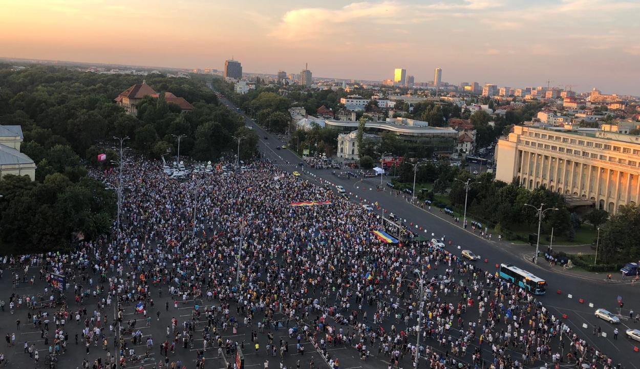 Komolyabb incidensek nélkül ért véget a diaszpóra és ellenzék kormányellenes tüntetése