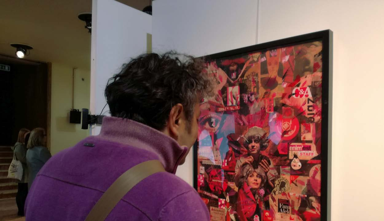 Rendteremtő kollázskiállítás