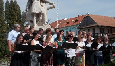 A magyar dal napja a Gábor Áron téren
