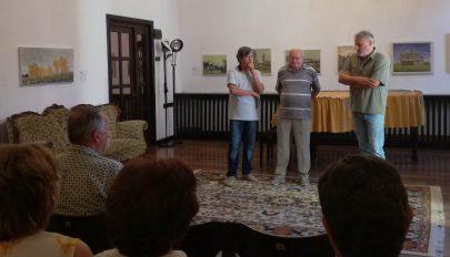 Román festők a Bástyában