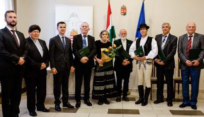 Magyar állami kitüntetésben részesültek