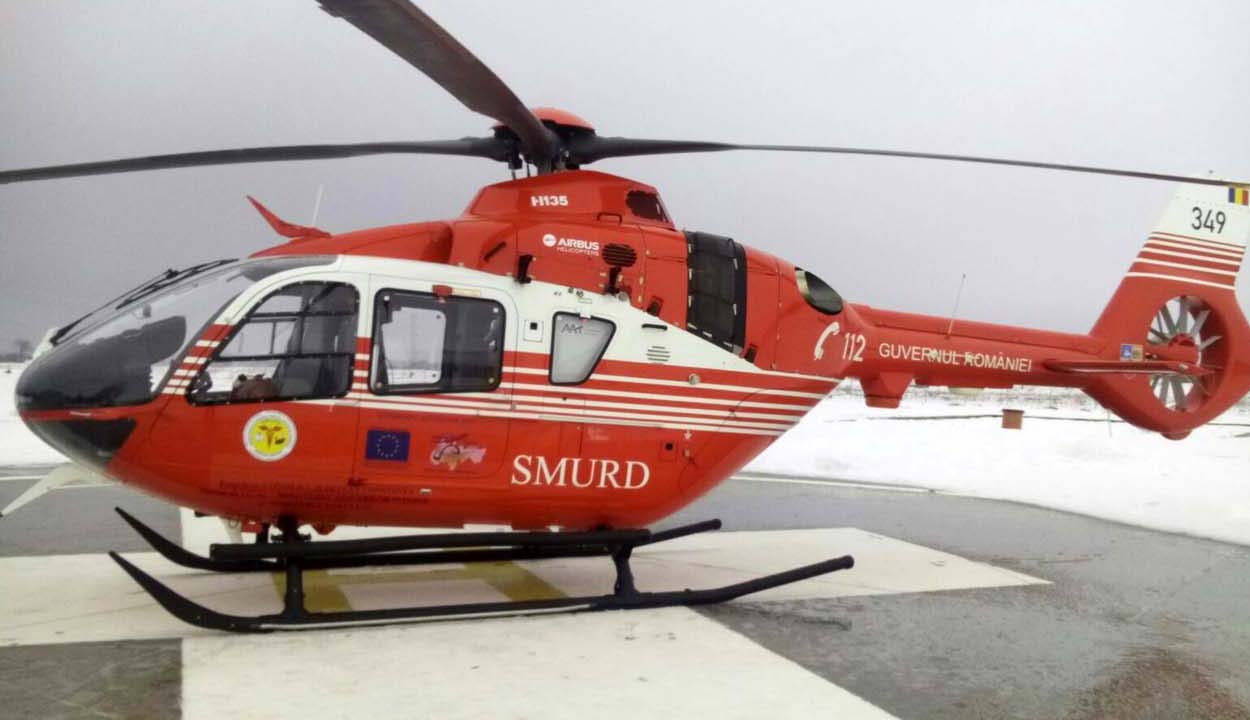 Jövőben elkészülhet a helikopter-leszálló