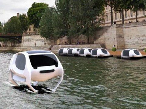 Vízen sikló taxik lehetnek Párizsban