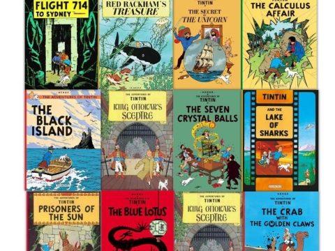 Újabb Tintin-rajz kerül kalapács alá