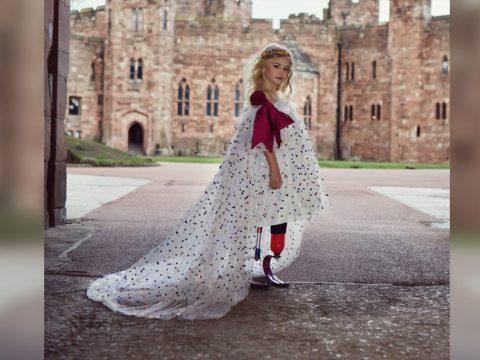 Egy kilencéves, műlábas modell volt a New York-i divathét kedvence