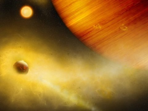 Különleges holdat találtak