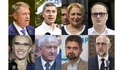 Felmérés: Klaus Johannis és Mircea Diaconu juthat az elnökválasztás második fordulójába
