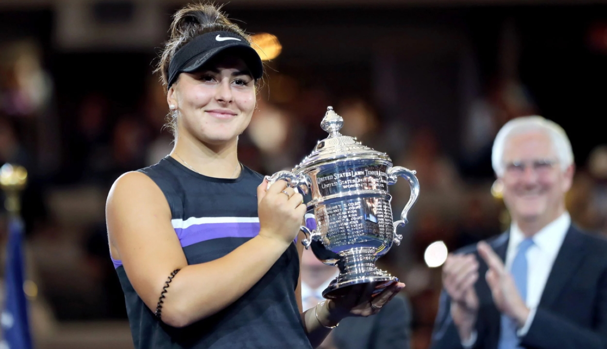 Tenisz: a román származású Bianca Andreescu nyerte a US Opent