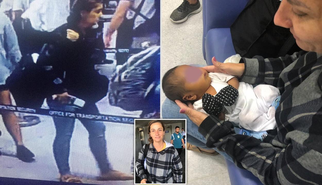 Táskába rejtett egyhetes csecsemőt próbált felvinni a repülőre egy amerikai nő