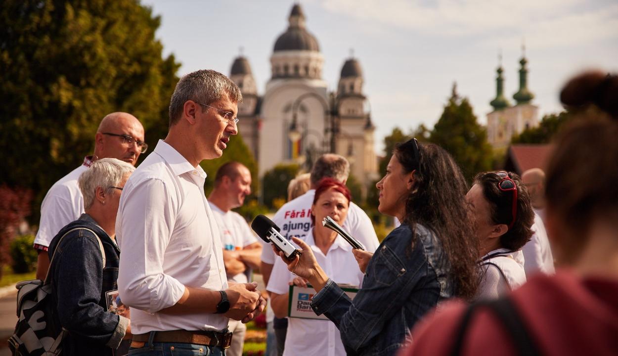 Dan Barna: Romániának felül kell kerekednie az etnikai törésvonalon