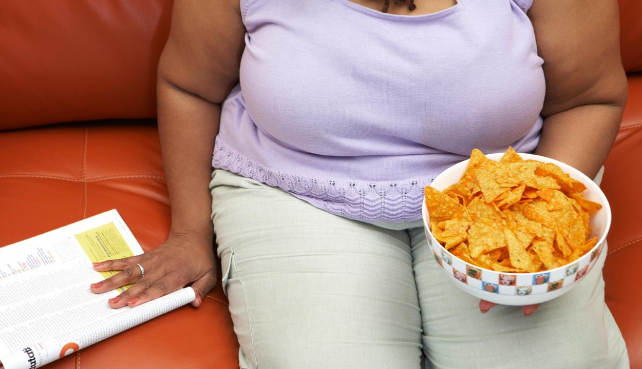 Az elhízás komoly halálozási tényező a járványban