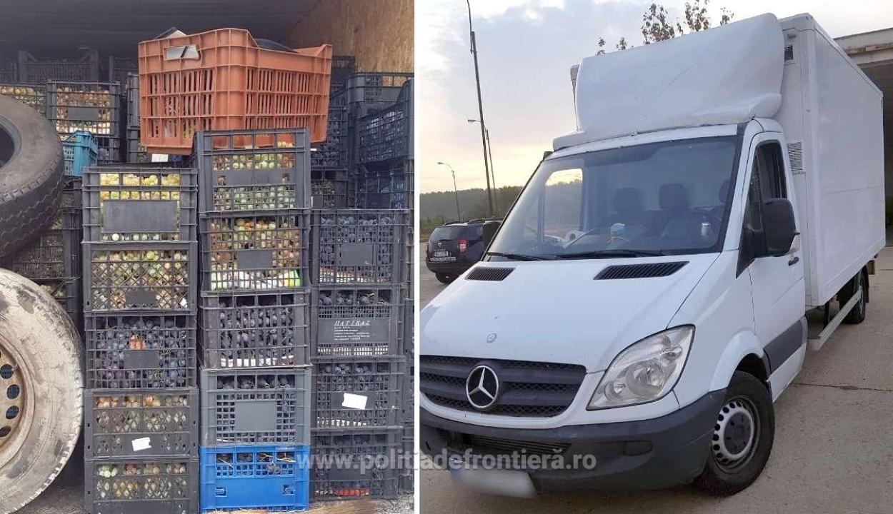 Iraki és szíriai határsértőket szállító embercsempészt ért tetten a román határrendészet
