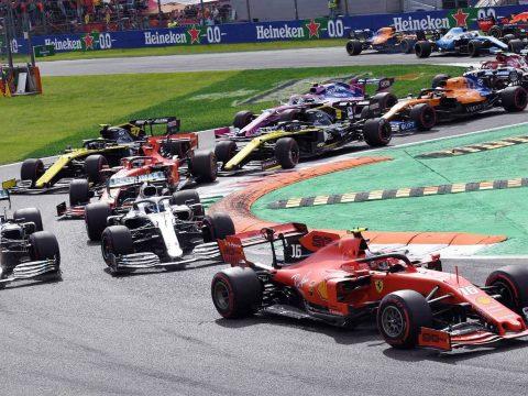 Forma-1: Leclerc kilenc év után vitte sikerre a Ferrarit Monzában