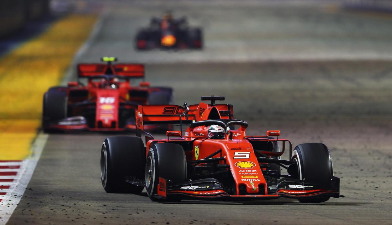 Forma-1: Vettel több mint egy év után nyert újra