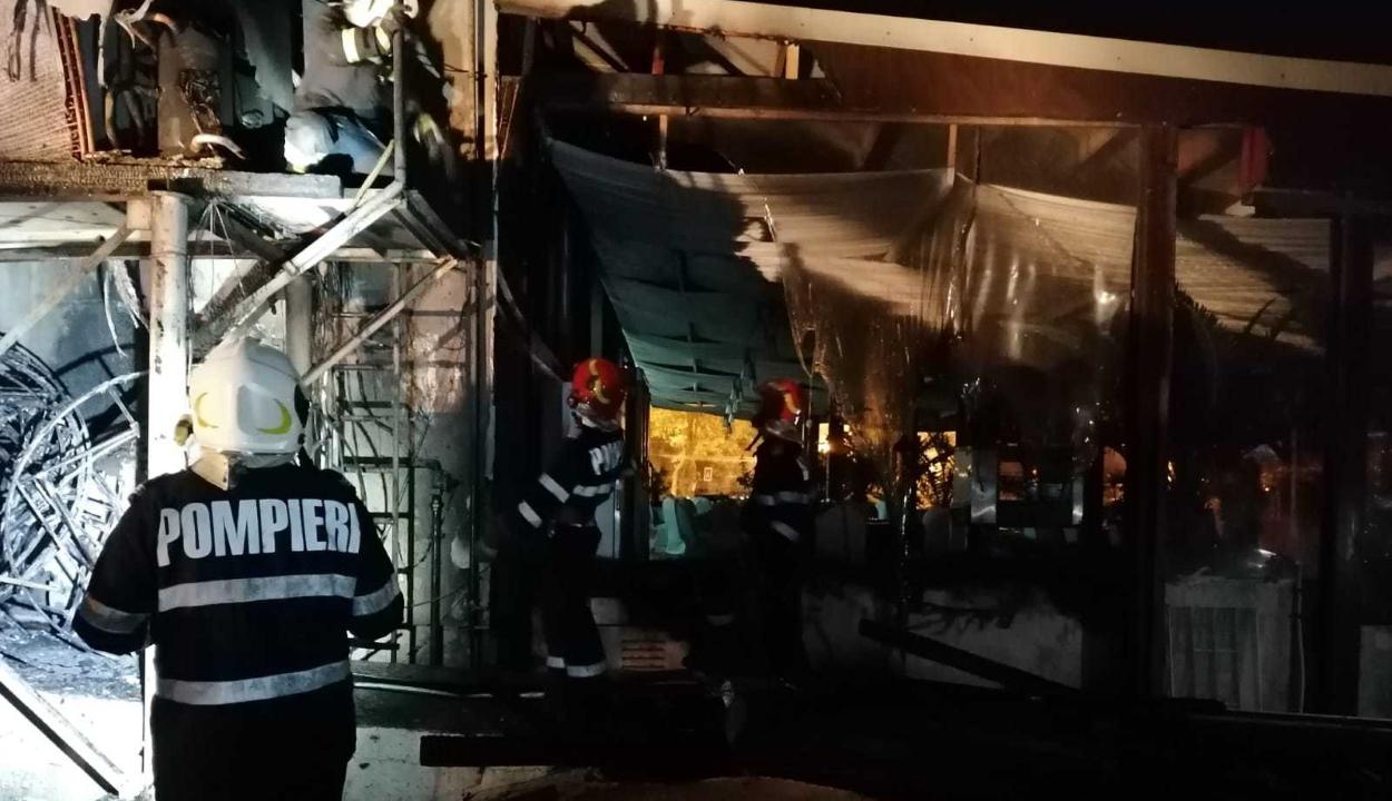 Tűz ütött ki az éjszaka egy mamaiai szállodában
