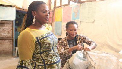 Műanyagpalackkal is lehet tandíjat fizetni egy nigériai iskolában