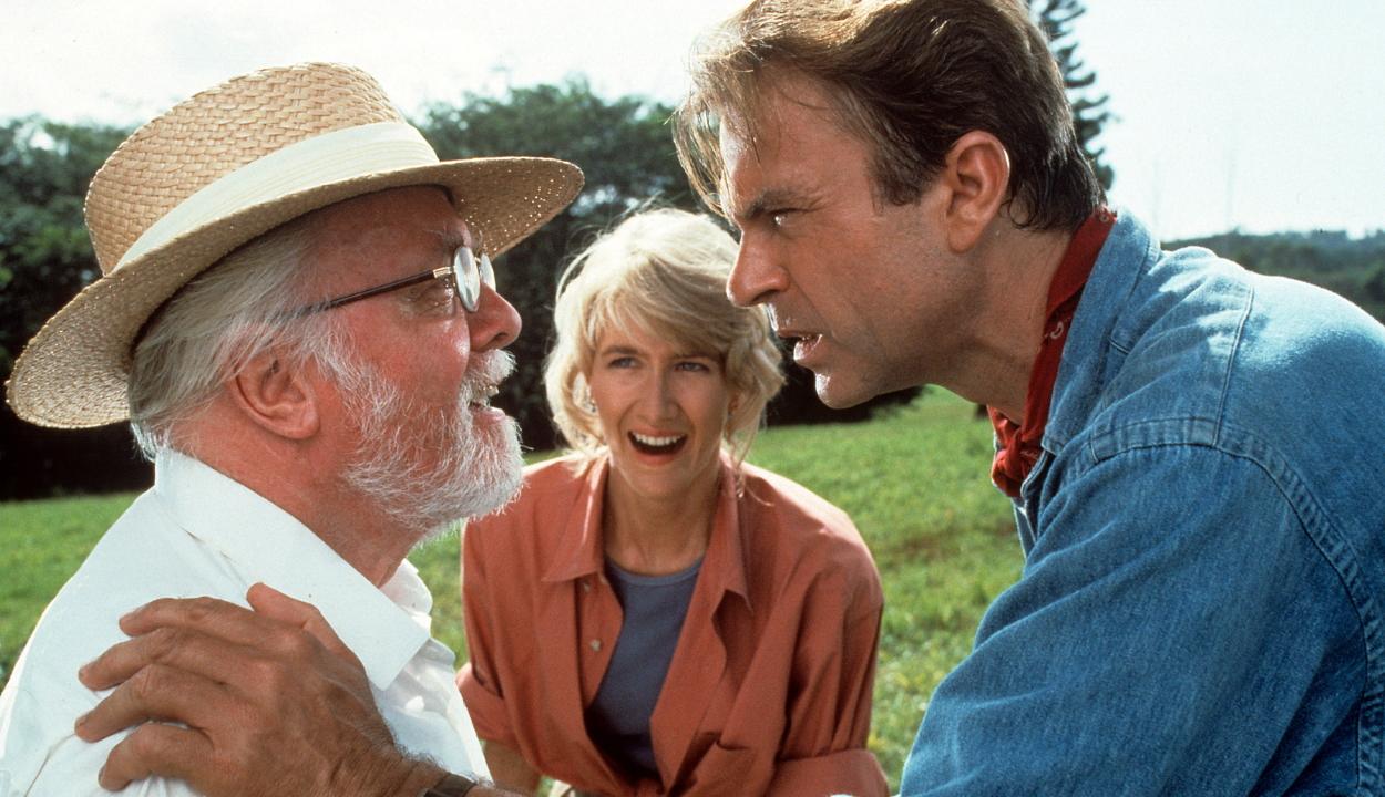 Az eredeti Jurassic Park szereposztásával folytatódik a dínós mozisorozat