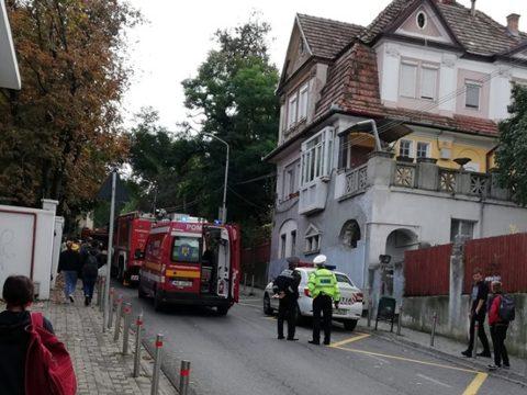 Tűz ütött ki egy marosvásárhelyi lakásban, egy férfi életét vesztette