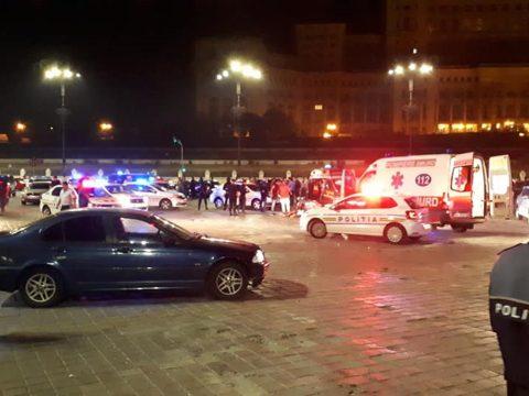 Leszámolás Bukarest központjában: egy személy meghalt, egy másik súlyosan megsérült