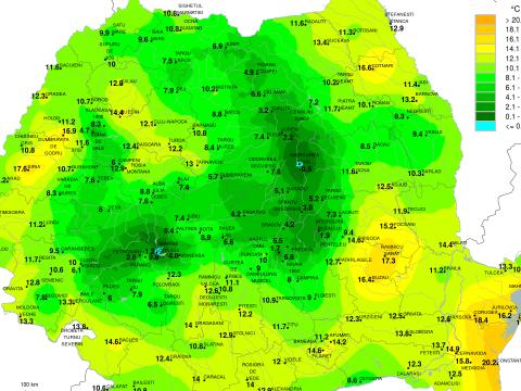 Fagypont alá süllyedt a hőmérséklet péntek reggel Csíkszeredában