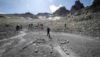 Eltűnt egy svájci gleccser