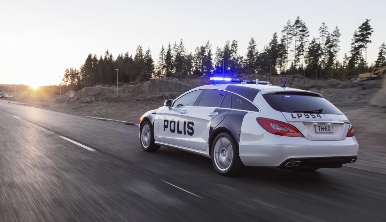 12 éves gyerek keveredett autós üldözésbe Finnországban