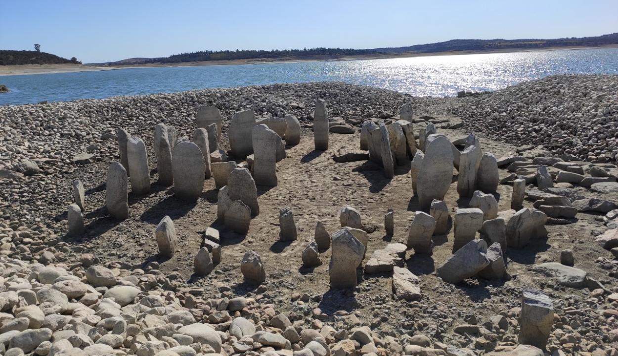 Ötven év után először látható újra a spanyol Stonehenge