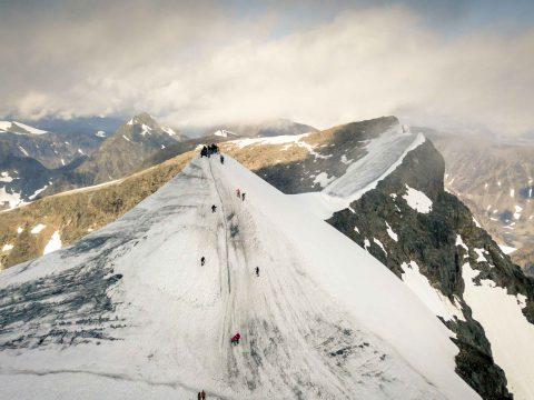 Elolvadt Svédország legmagasabb hegycsúcsa