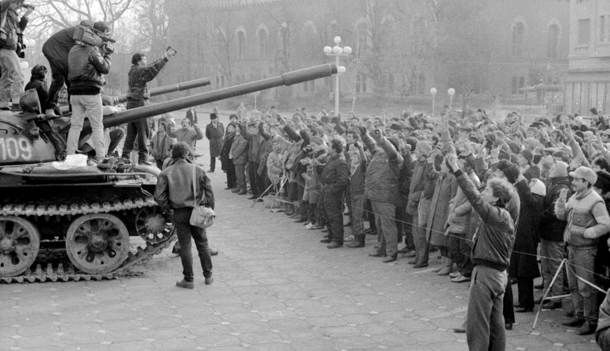 Az 1989-es népfelkelés első áldozatára emlékeztek Temesváron