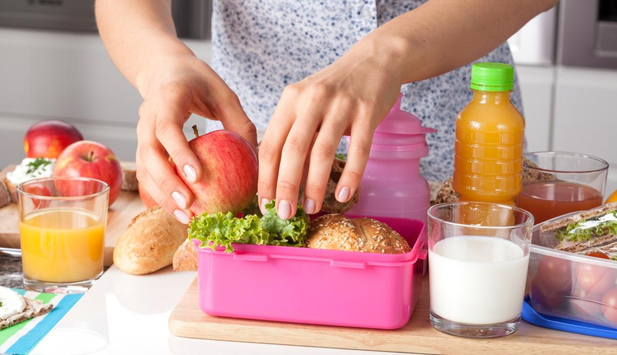 Dietetikus: célszerű a szülőknek csomagolniuk az iskolások tízóraiját, uzsonnáját