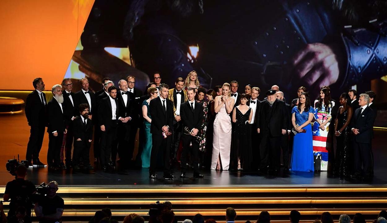 Újra tarolt a Trónok harca Emmy-gálán