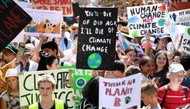 Százezrek vonultak utcára Ausztráliában a klímavédelem jegyében
