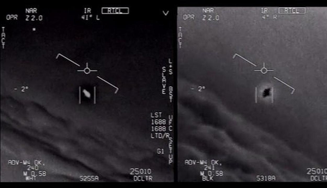 Valódi UFO-videók szivárogtak ki az amerikai hadseregtől